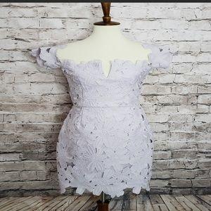Free people Saylor lilac dress